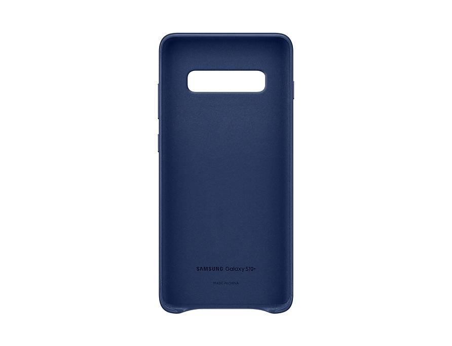 Original Leather Cover Samsung Galaxy S10 Plus G975 Navy EF-VG975LNE image