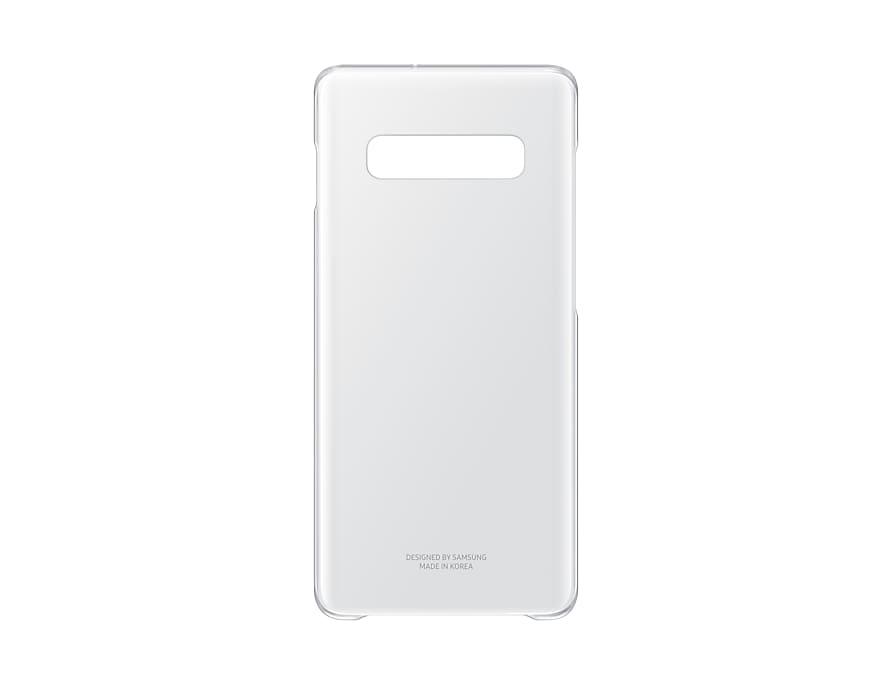 Original Clear Cover Samsung Galaxy S10 Plus G975 Transparent EF-QG975CTE image