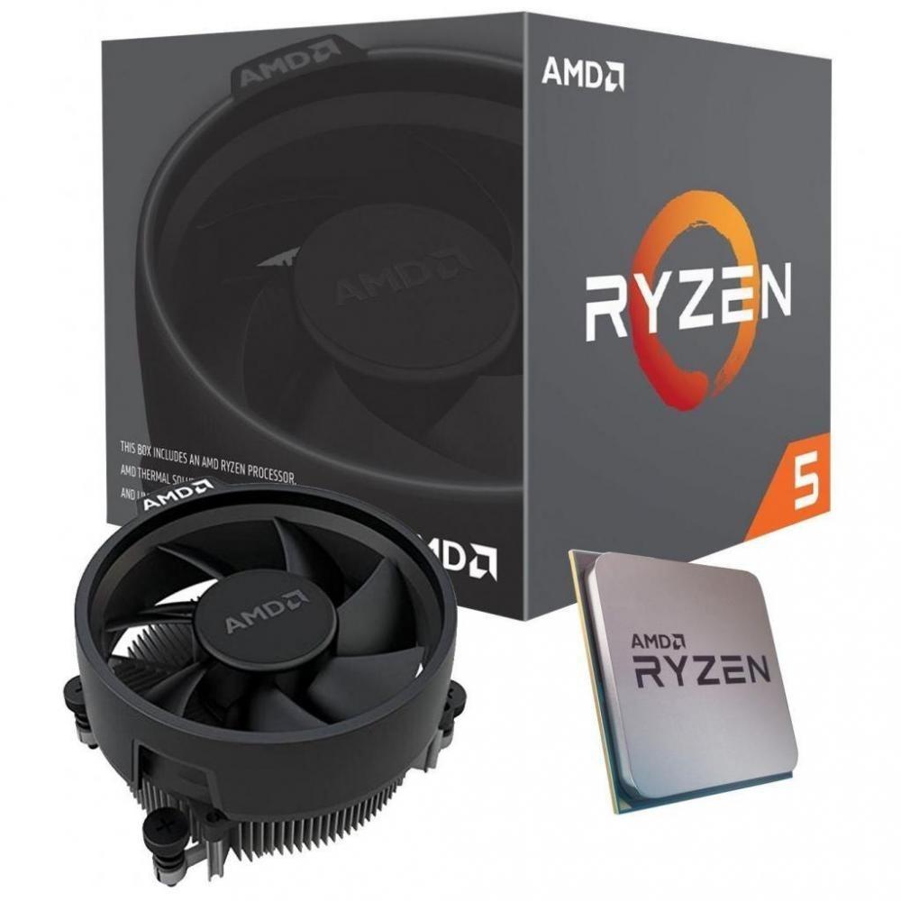 Επεξεργαστής Ryzen 5 3400G 4.2GHz Max Boost AM4 With Radeon Vega Graphics YD3400C5FHBOX image