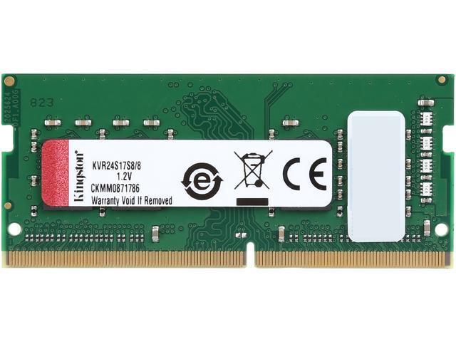 ValueRAM By Kingston 8GB Ram DDR4 2400MHz C17 KVR24S17S8/8 image
