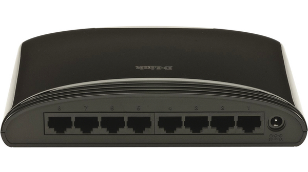 Switch D-Link DES-1008D 8 ports 10/100mbps image