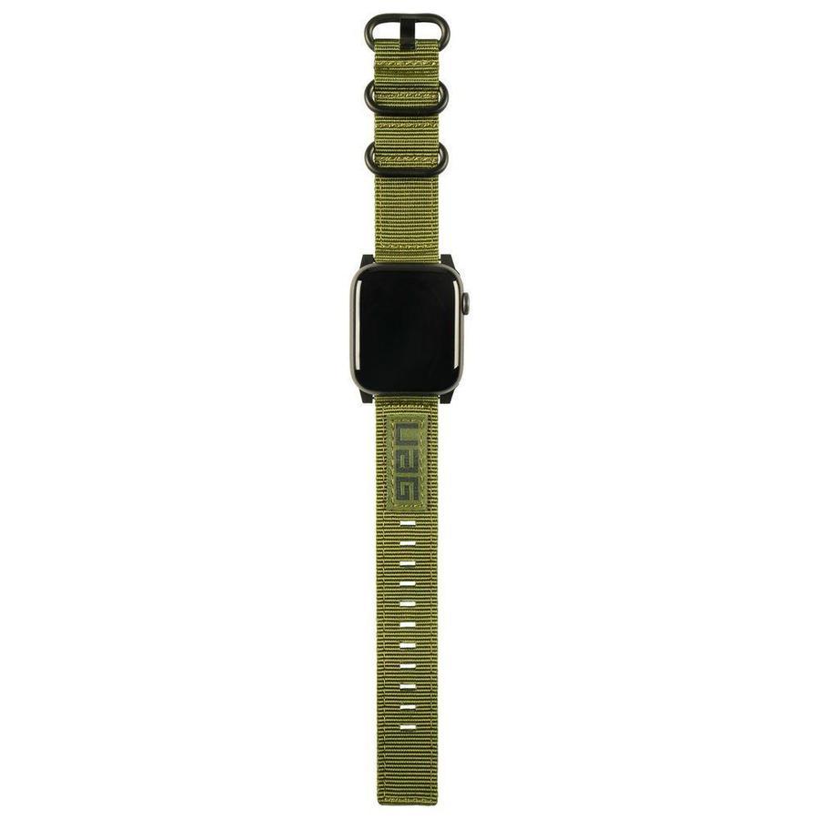 Ανταλλακτικό Λουράκι UAG Nato Strap Olive Drab Για Apple Watch 42mm/44mm 19148C114072 image