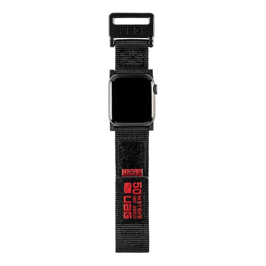 Ανταλλακτικό Λουράκι UAG Active Strap Black Για Apple Watch 42mm/44mm 19148A114040 image