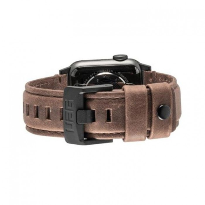 Ανταλλακτικό Λουράκι UAG Leather Strap Brown Για Apple Watch 42mm/44mm 19148B114080 image