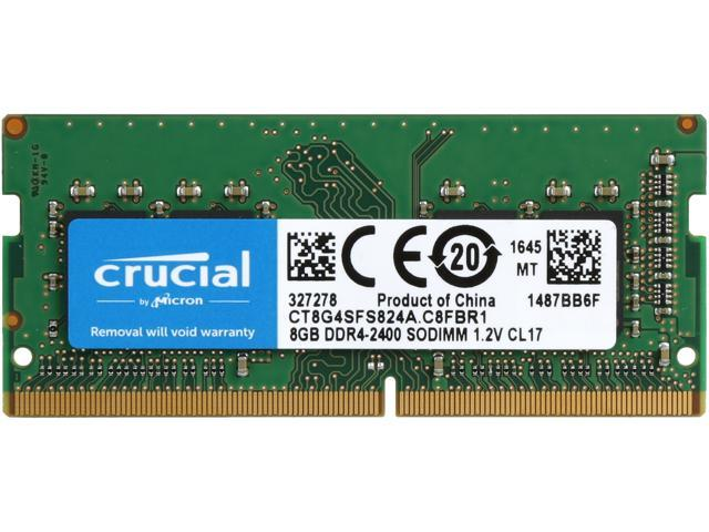 Crucial By Micron 8GB Ram DDR4 1.2V Για Φορητό 2400MHz CL17 CT8G4SFS824A image