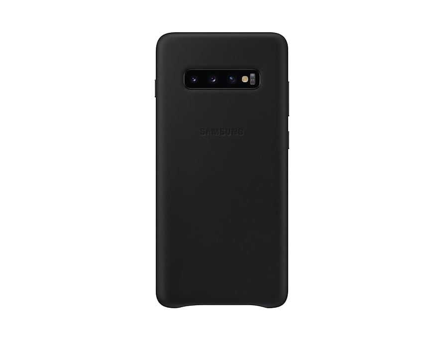 Original Leather Cover Samsung Galaxy S10 Plus G975 Black EF-VG975LBE image
