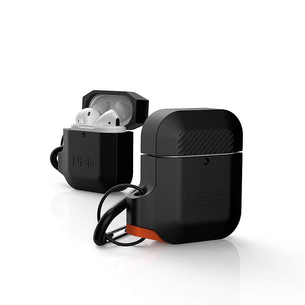 Θήκη Σιλικόνης Για Airpods UAG Black - Orange 10185E114097 image