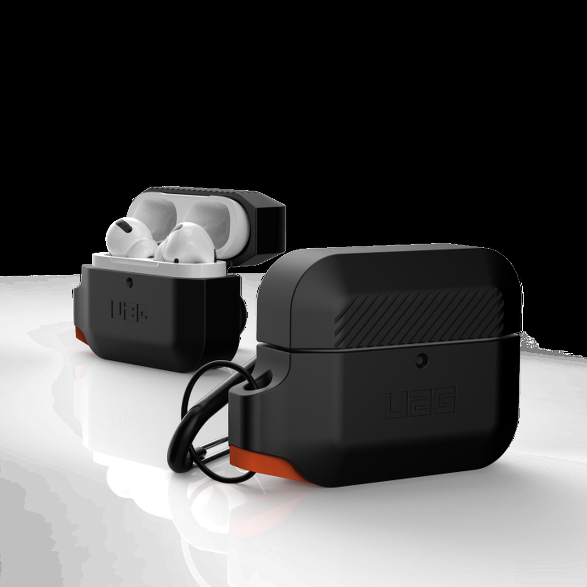 Θήκη Σιλικόνης Για Airpods Pro UAG Black - Orange 10225K114097 image