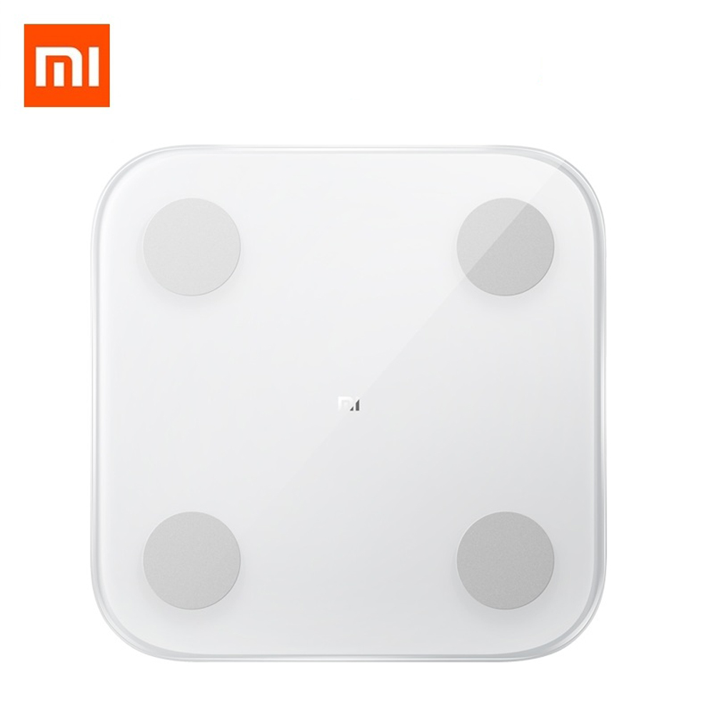 Mi Body Composition Scale 2 Ψηφιακή Ζυγαριά με Λιπομετρητή & Bluetooth White Xiaomi image