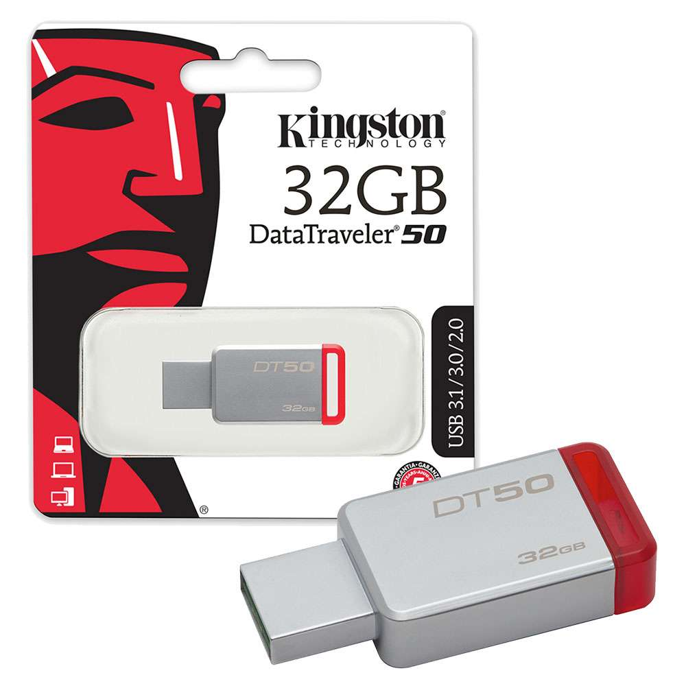 Data Traveler 50 USB 3.1 32gb Kingston DT50/32GB image