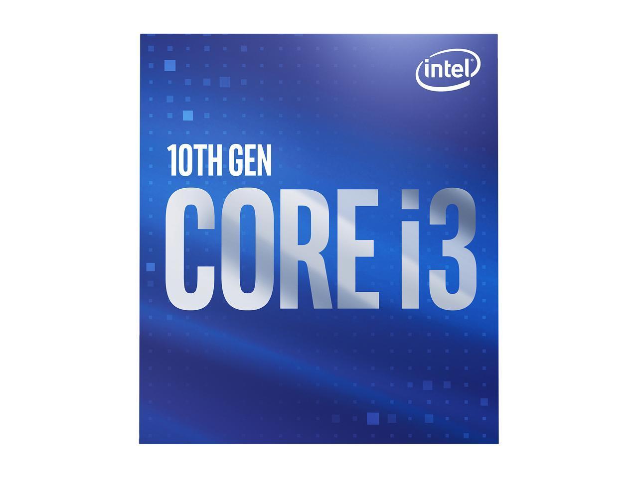 Επεξεργαστής Intel i3 10100 3.6Ghz LGA1200 BX8070110100 With Thermal Solution image