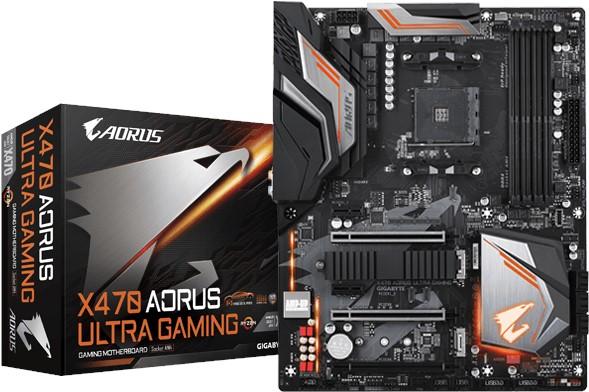 Gaming Motherboard X470 AORUS Ultra Gaming Gigabyte image