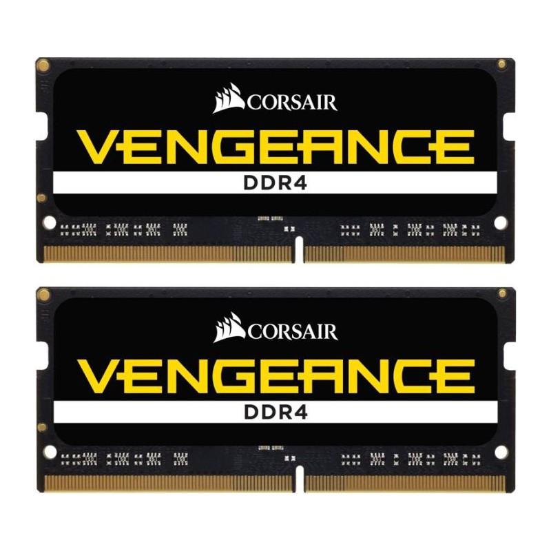 Vengeance By Corsair ΓΙΑ ΦΟΡΗΤΟ 32gb (2x16) Ram DDR4 3000MHz CL18 CMSX32GX4M2A3000C18 image