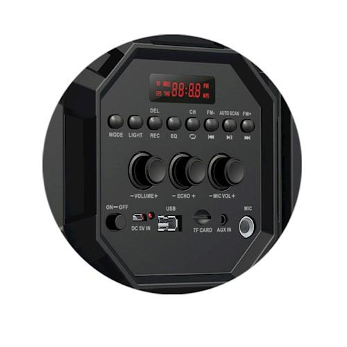 Φορητό Ηχείο Karaoke Soundbox 460 40W Rebeltec Bluetooth/Aux/Radio/Usb/MicroSd  image