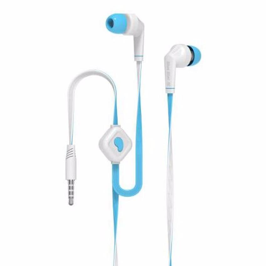 Ακουστικά Handsfree Audio Headset Universal BS Blue White JD-88 image