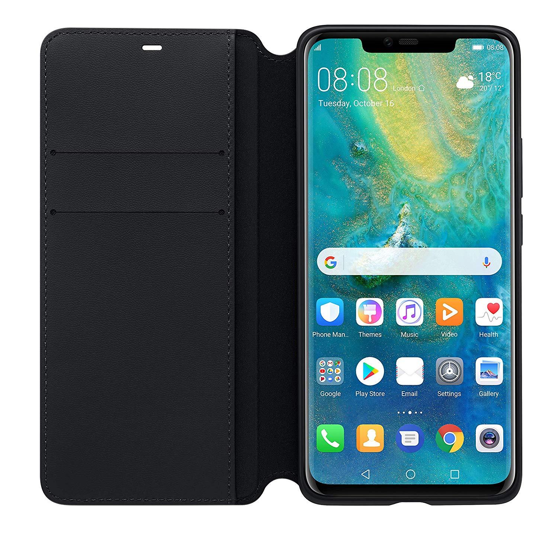 """Γνήσια Θήκη Wallet Cover Για Huawei Mate 20 Pro 6.39"""" Black 51992636 image"""