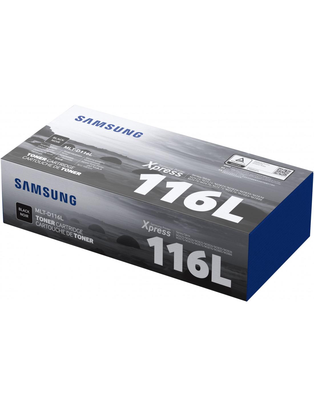 Γνήσιο Toner Samsung MLT-D116L Black SU828A image