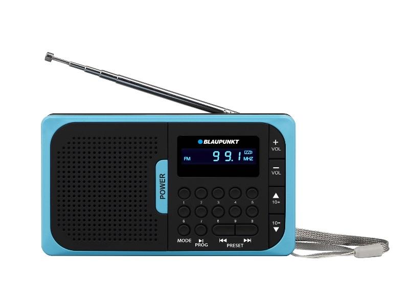 Ραδιόφωνο Τσέπης FM, MP3, Microsd, USB Blaupunkt PR5BL Μπλε image