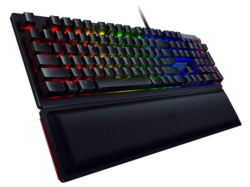 Πληκτρολόγιο Ενσύρματο Razer Huntsman Elite Opto-Mechanical Switch US RZ03-01870100-R3M1 image