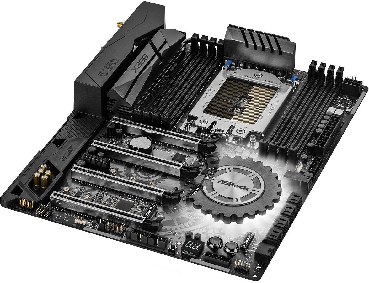 Motherboard X399 Asrock Taichi Socket TR4 90-MXB5R0-A0UAYZ image