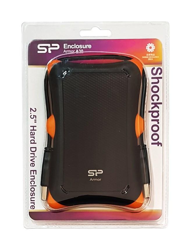 """Εξωτερική θήκη SP Armor 30 για HDD 2.5"""" USB 3.0 Shockproof SP000HSPHDA30S3K image"""