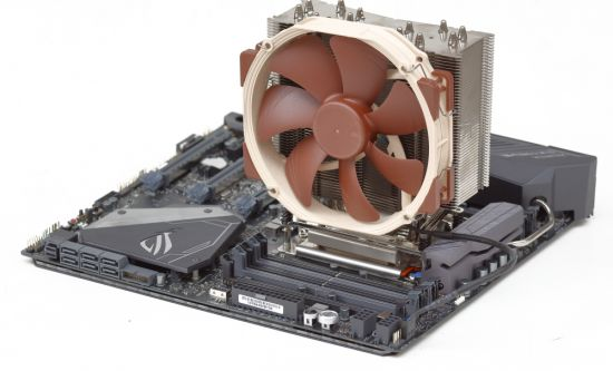Ψύκτρα CPU Cooler NH-U14S Noctua AM3+, AM4 LGA1151 image