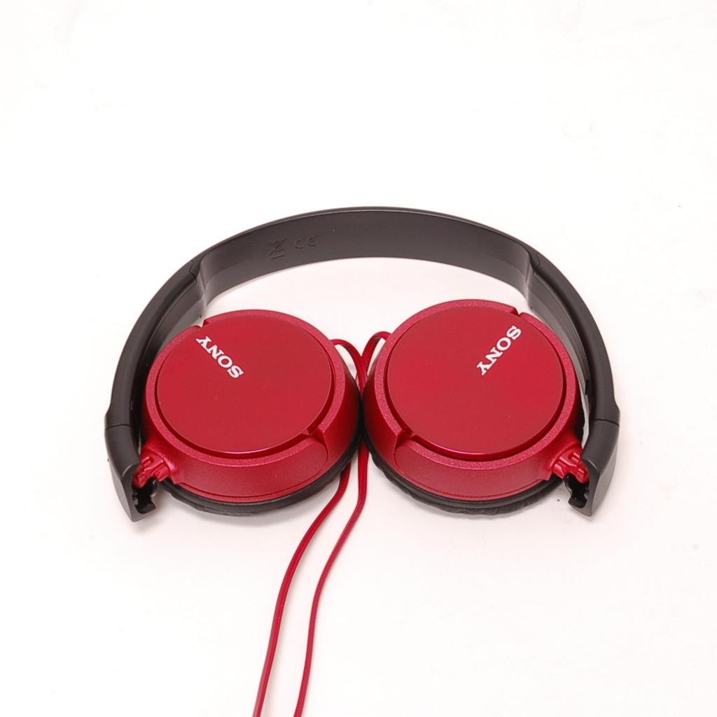 Ακουστικά Κεφαλής Στερεοφωνικά Sony MDR-ZX310R Red image