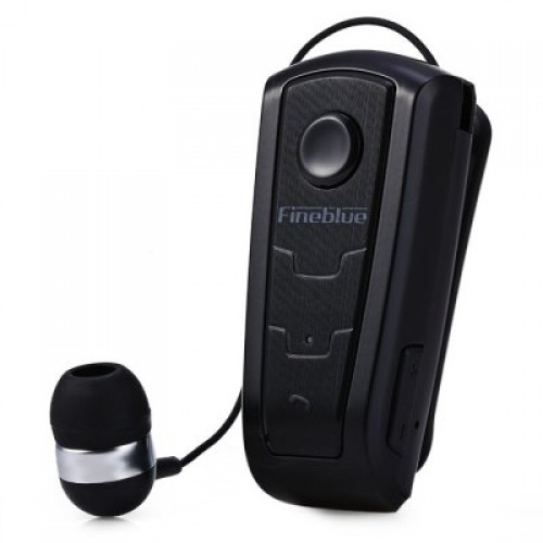 Bluetooth Headset Fineblue F910 Με Δόνηση Black F910-BK image