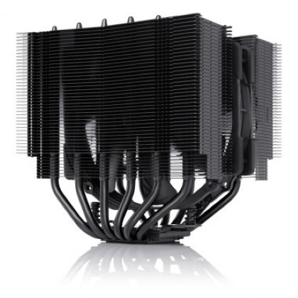 Ψύκτρα CPU Cooler NH-D15S Chromax.black Noctua AM3+, AM4 LGA1151 image