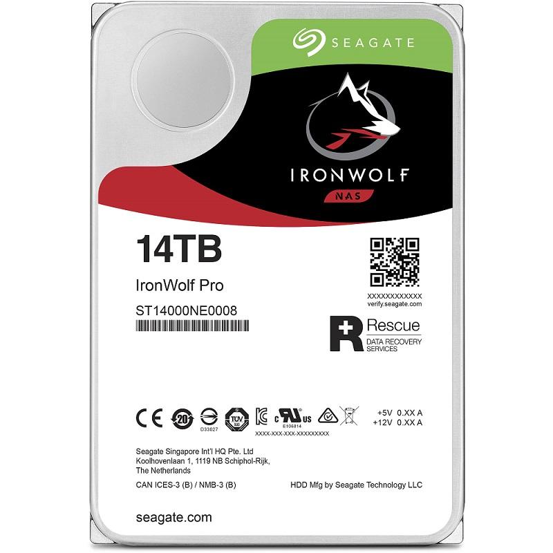 """HDD Seagate IronWolf Pro 3.5"""" 14TB NAS ST14000NE0008 image"""