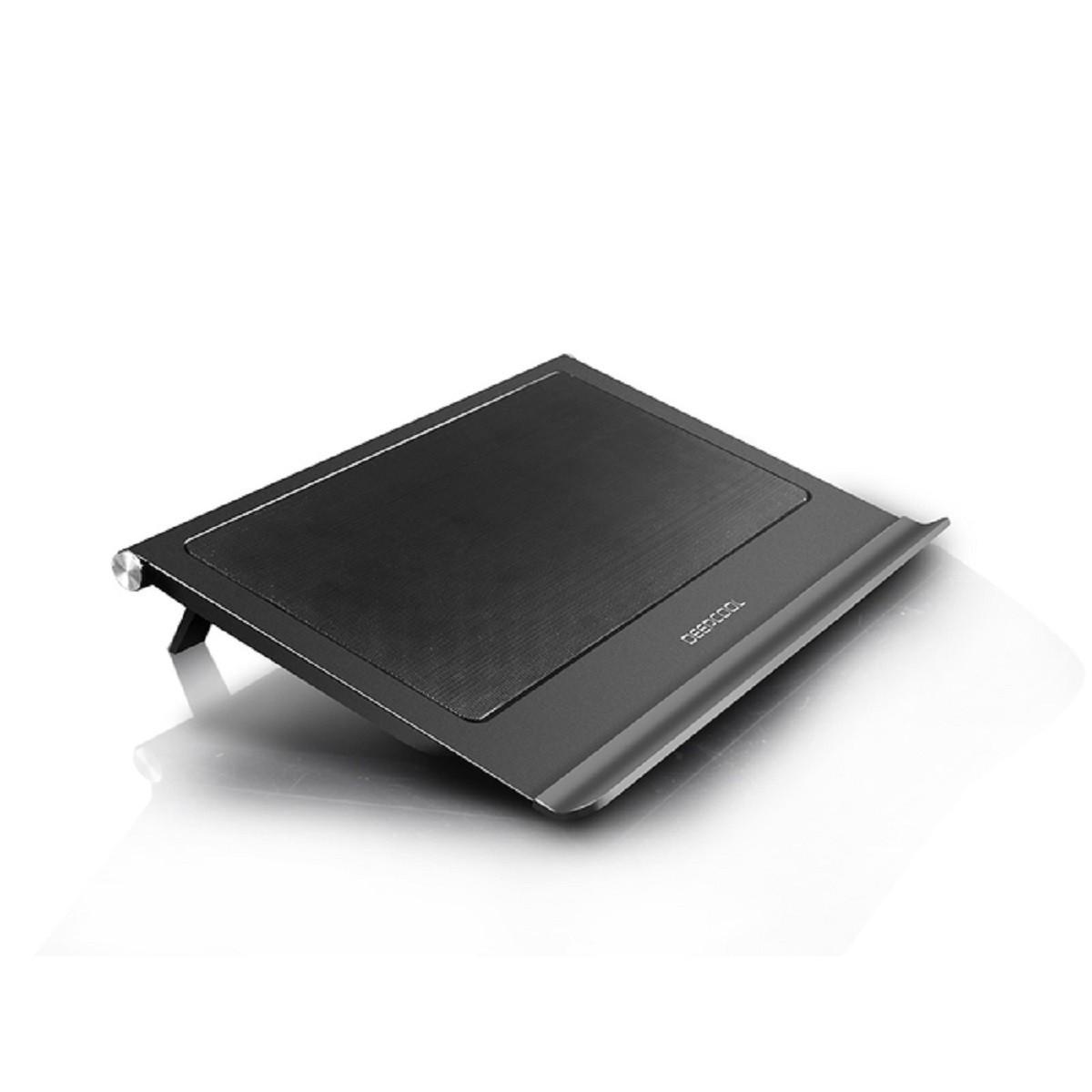 """Βάση Στήριξης Αλουμινίου Για Laptop έως 17,3"""" Με 2*140mm Ανεμιστήρες N65 image"""