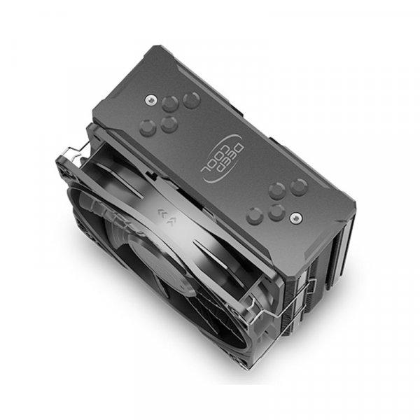 Ψύκτρα Gaming 4-Heatpipe CPU Gammaxx GTE V.2 BLACK For Intel/AMD Deepcool  image