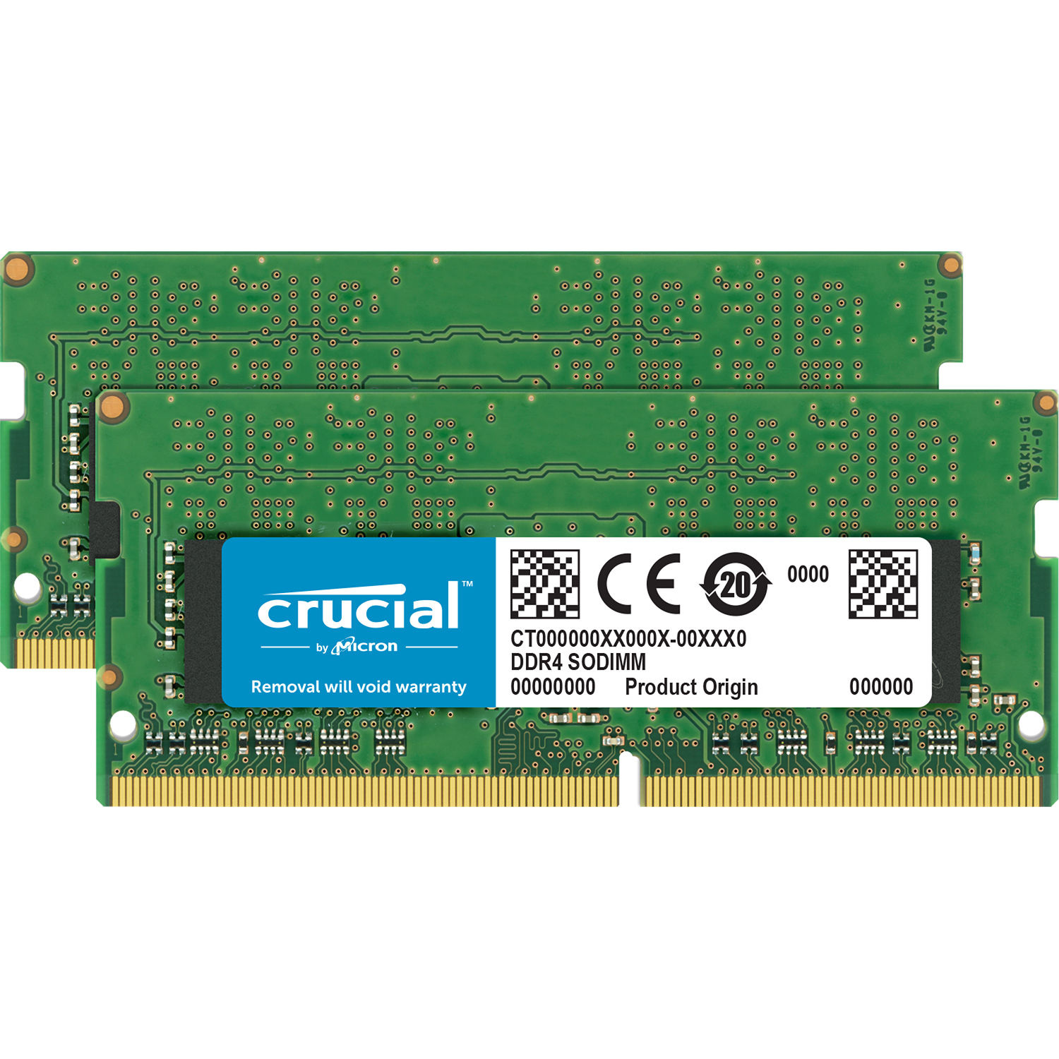 Crucial By Micron 32GB Ram DDR4 Για Φορητό MAC 2666MHz CL19 CT2K16G4S266M image