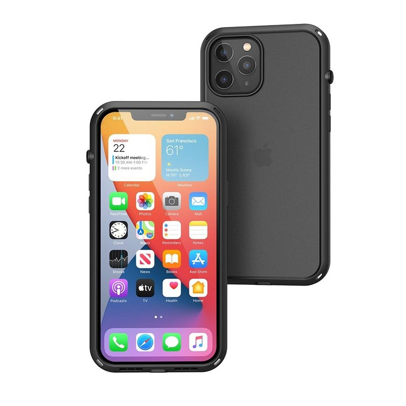 Influence Case iPhone 12 Pro Max Catalyst Stealth Black image