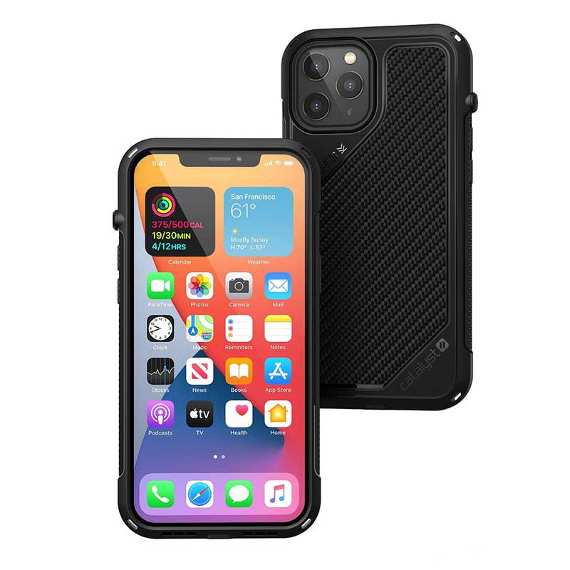Vibe Case iPhone 12 Pro Max Catalyst Stealth Black image