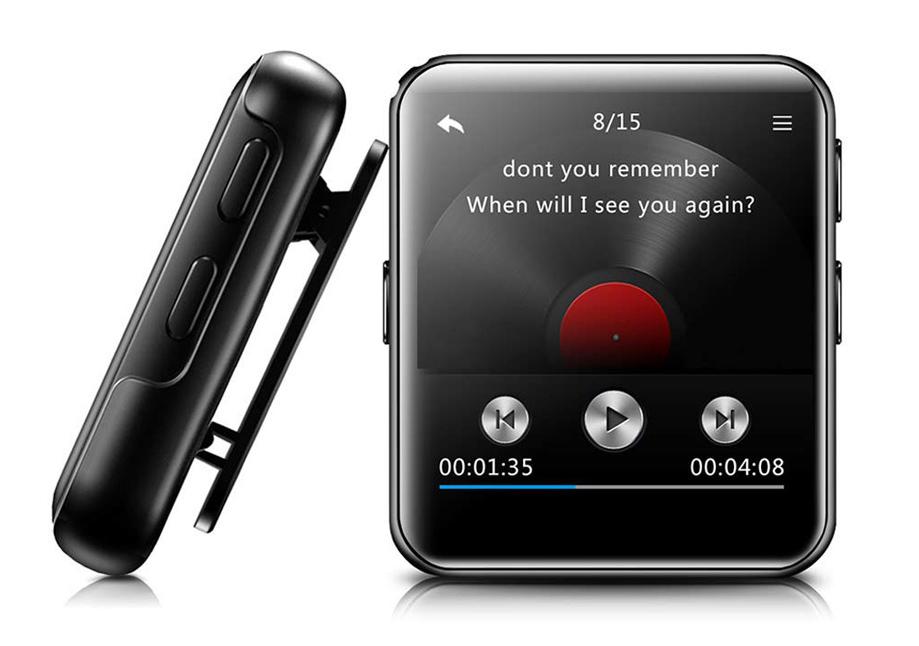 "MP3 Player Benjie BJ-A39 1.8"" Bluetooth, με ηχείο Black image"