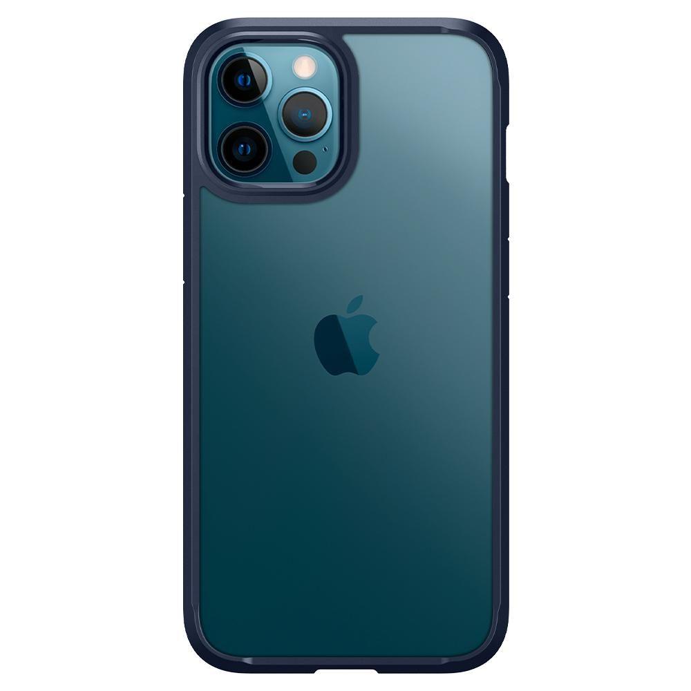 "iPhone 12 Pro Max 6.7"" Spigen Ultra Hybrid Case Navy Blue ACS02248 image"