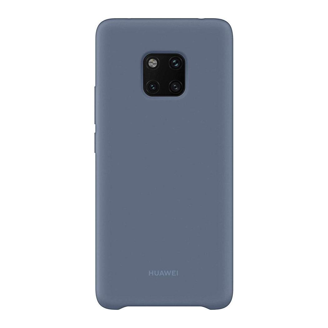 Γνήσια Θήκη Back Cover Σιλικόνης (TPU) Για το Huawei Mate 20 Pro Μπλε 51992684 image