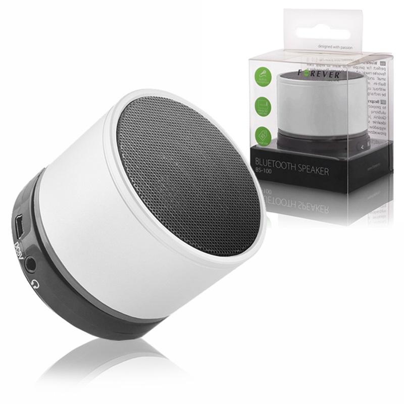 Φορητό Ηχείο Bluetooth 3W BS-100 White image