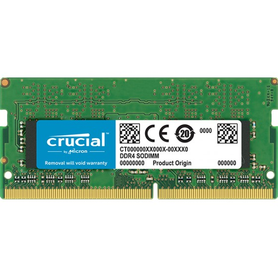 Crucial By Micron 8GB Ram DDR4 1.2V Για Φορητό 2666MHz CL19 CT8G4SFRA266 image