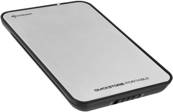 """Εξωτερικό κουτί σκληρού δίσκου HDD Sharkoon Quickstore Mirror 2.5"""" USB 2.0"""