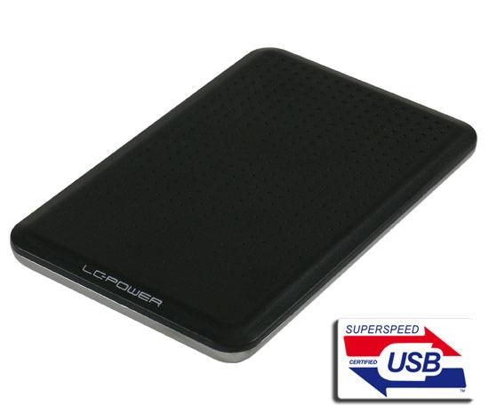"""Εξωτερικό κουτί σκληρού δίσκου LC Power 2.5"""" HDD/SSD USB 3.0 SATA LC-25BU3 image"""