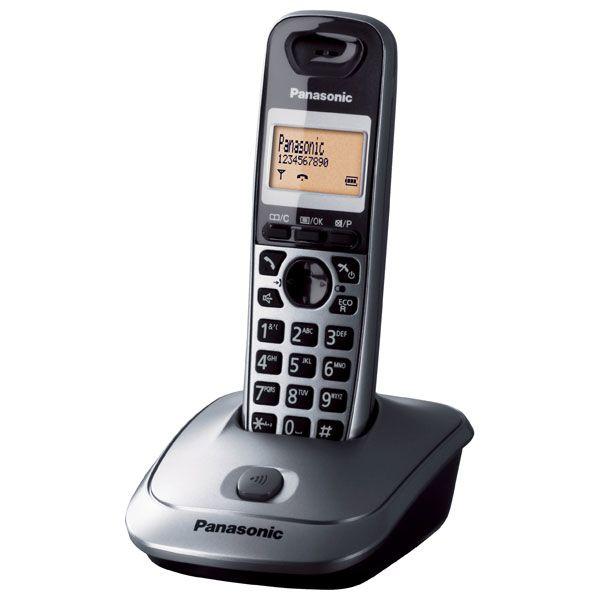 Ασύρματο Panasonic KX-TG2511GRM Ασημί ΕΛΛΗΝΙΚΟ image
