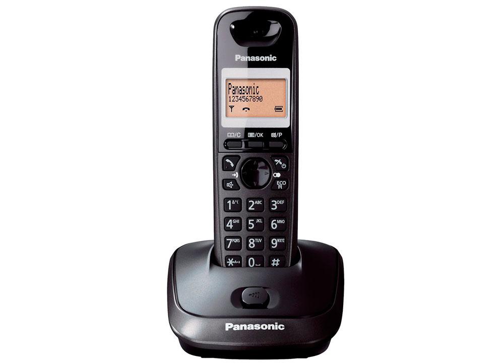 Ασύρματο Panasonic KX-TG2511GRT Μαύρο ΕΛΛΗΝΙΚΟ image