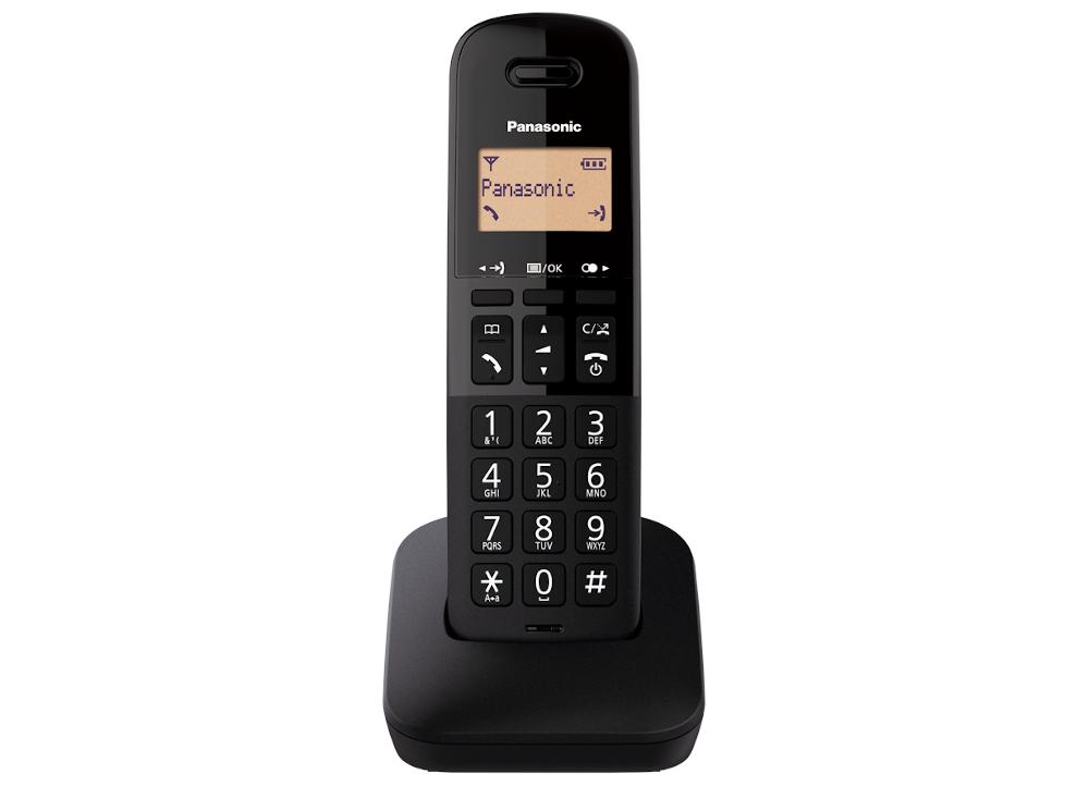 Ασύρματο Panasonic KX-TGB610GRB Μαύρο ΕΛΛΗΝΙΚΟ image