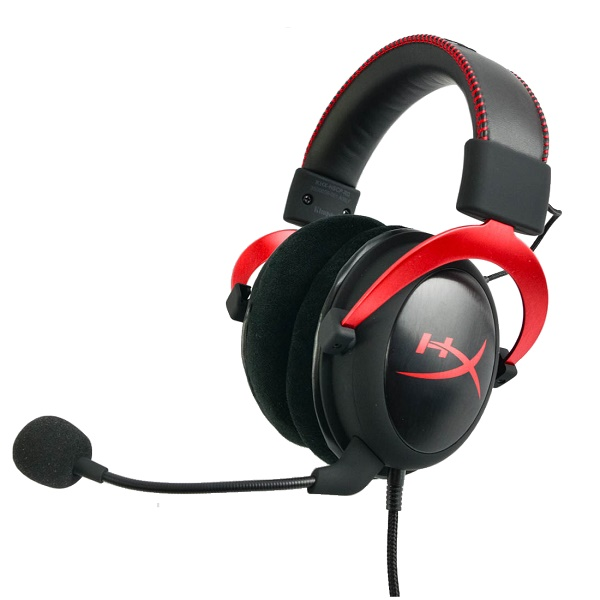 Gaming Ακουστικά Κεφαλής HyperX Cloud II Red PC KHX-HSCP-RD image