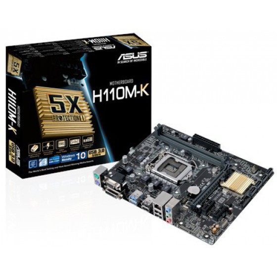 Motherboard Asus H110M-K 90MB0PH0-M0EAY0 image