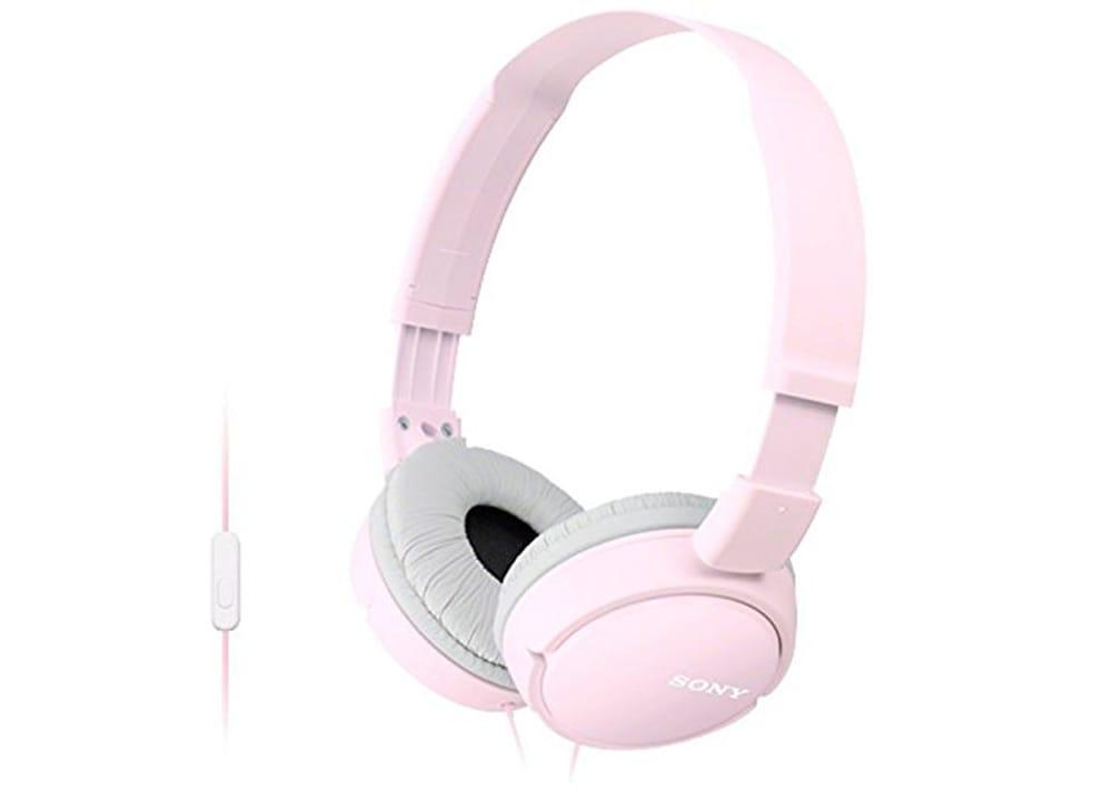 Ακουστικά Κεφαλής Με Μικρόφωνο Sony MDR-ZX110AP Pink