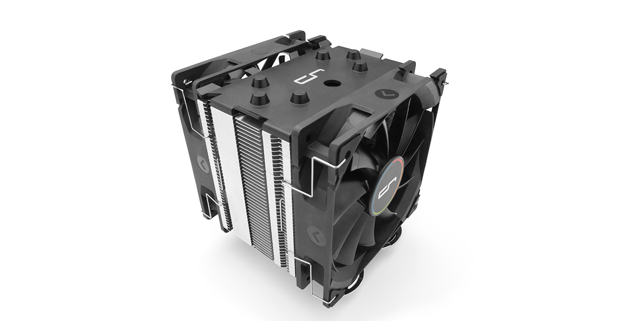 Ψύκτρα CPU Cooler Cryorig H7 PLUS 2*120mm Fans Intel, AMD Socket CR-H7PA image