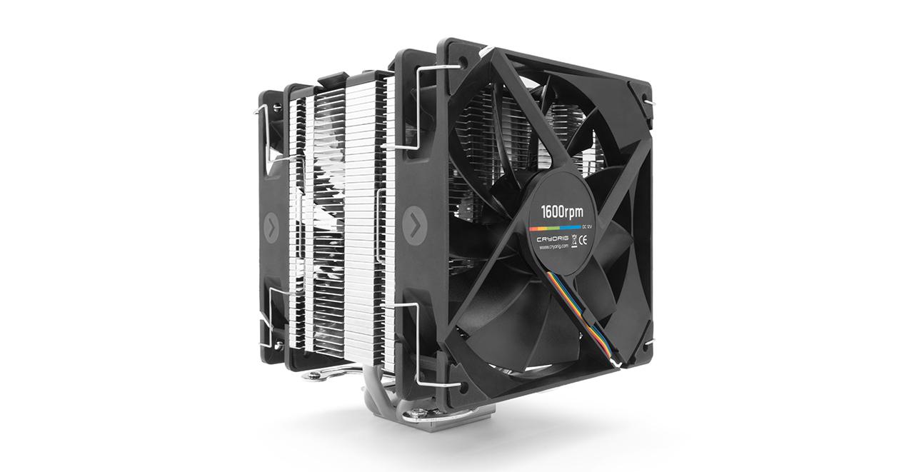 Ψύκτρα CPU Cooler Cryorig H7 PLUS 2*120mm Fans Intel, AMD Socket CR-H7PA